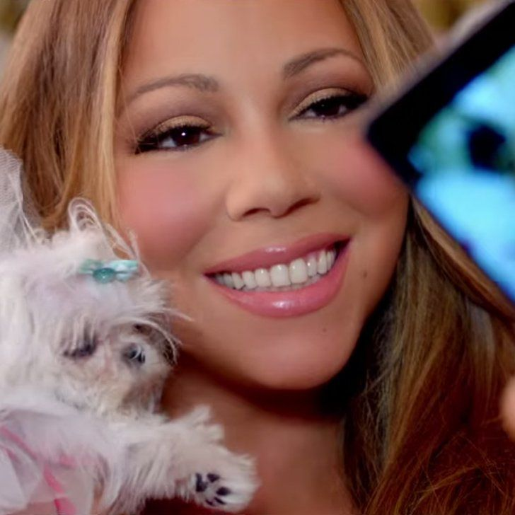 "Pin for Later: Surprise! Mariah Carey's Online Dates Are Superhot in Her ""Infinity"" Video"
