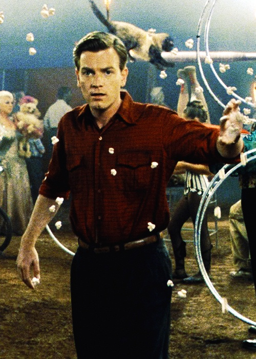 "Edward Bloom, Big Fish. ""They say when you meet the love of your life, time stops"" :D  *goosebumps*"