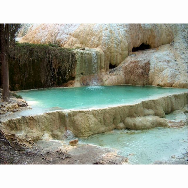 Bagni di San Phillippo Thermal Springs - Val d'Orcia, Italy