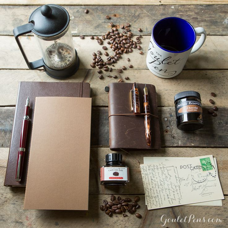 Goulet Pens Blog: Thursday Things: Coffee Shop