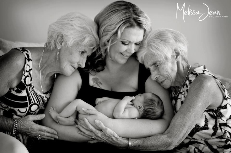 Four generations of beautiful, strong women.                                                                                                                                                                                 More