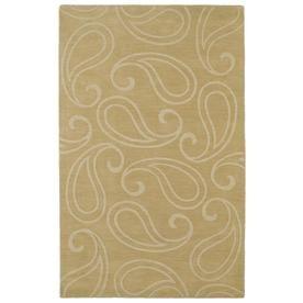 Kaleen Imprints Classic Yellow Rectangular Indoor Handcrafted Southwestern Area Rug (Common: 10 X 14; Actual: 9.5-Ft W X