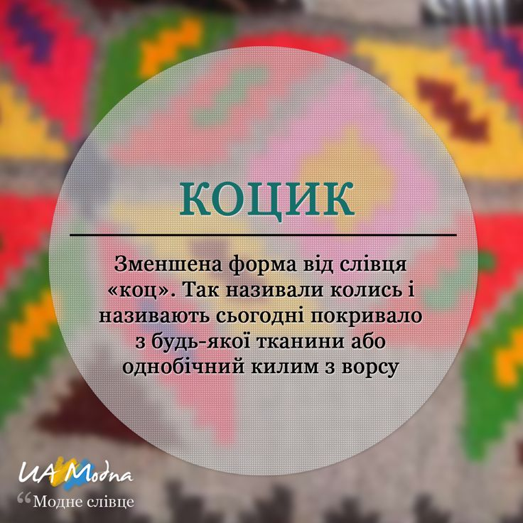 Коцик - актуальне модне слівце від UA Modna :) www.uamodna.com/articles/kocyk #uamodna #ua_modna #modneslivce