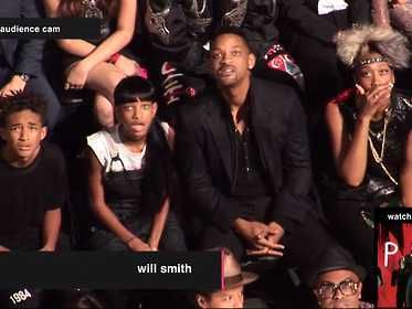Will Smith And His Kids Had The Greatest Reaction Ever To Miley Cyrus' VMA Performance...this is what I looked like too!