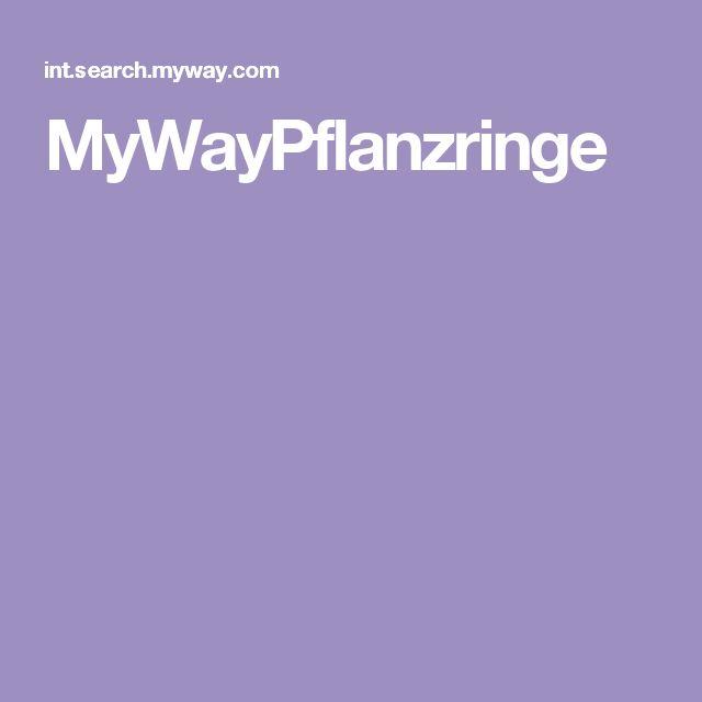 MyWayPflanzringe