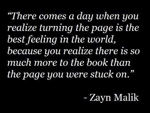 Time to turn the page.