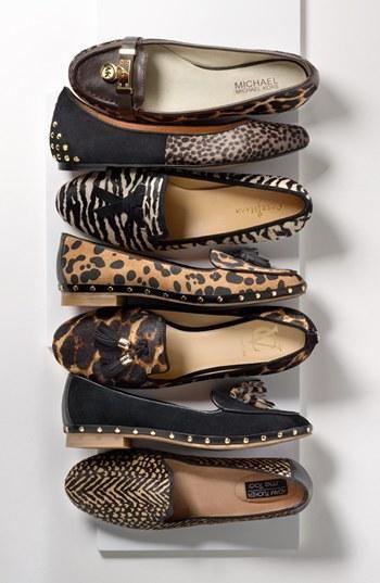 Fashion Week Packing Inspiration: Animal Print Oxfords