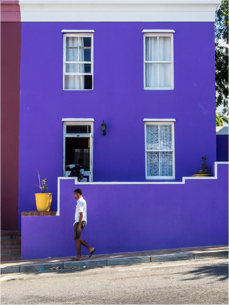 Bo-Kaap is a must see in Cape Town. Beautiful to walk through