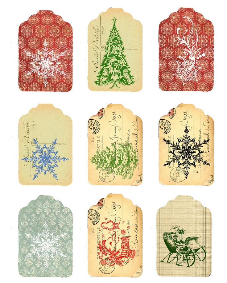 Free printables vintage label and tags