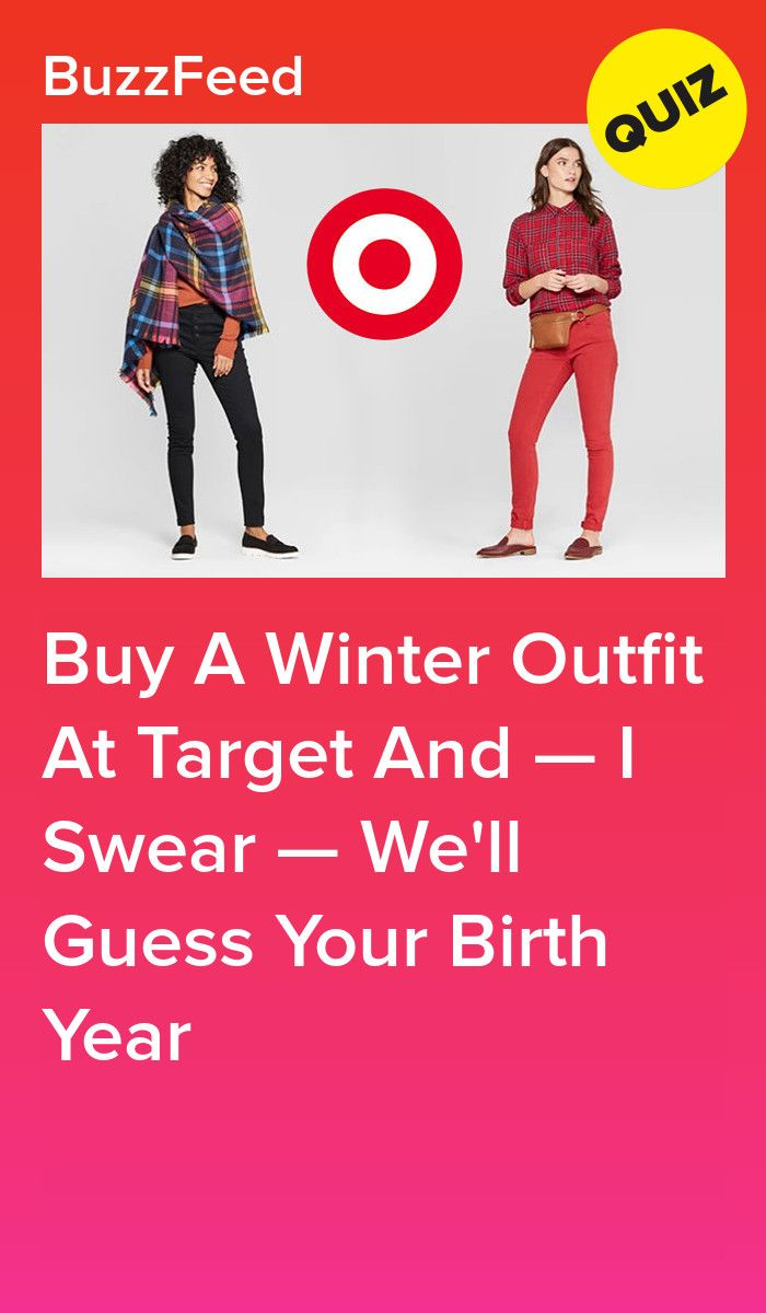 Build A Winter Outfit From Target And We'll Accurately Guess