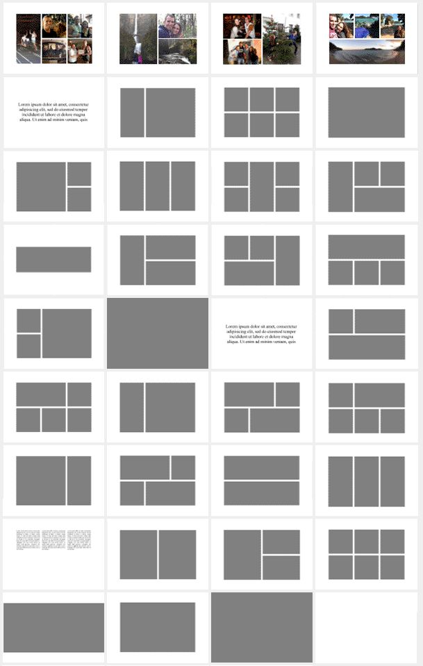 layout templates A4 horizontal - Google-søgning More