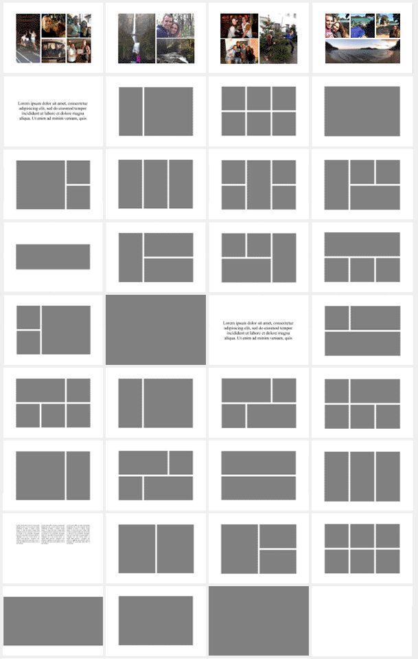 layout templates A4 horizontal - Google-søgning