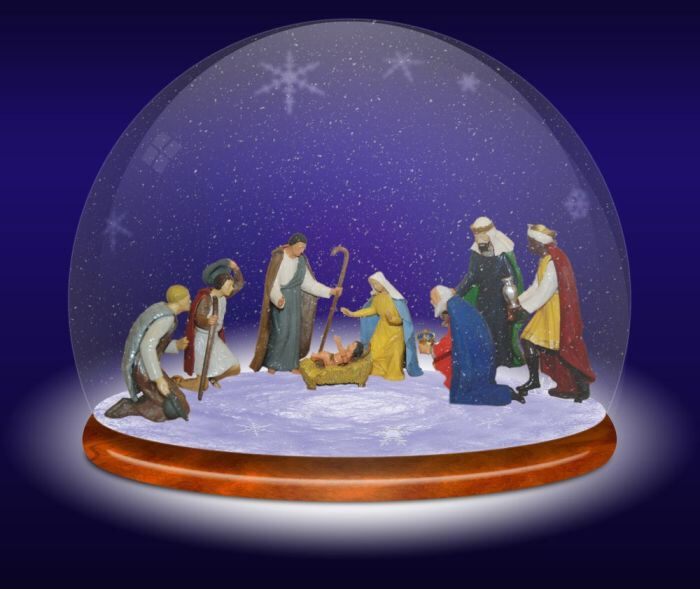 Christmas Water Globes With Music
