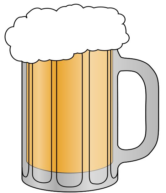 Beer Clip Art & Images - Free for Commercial Use | beer ...