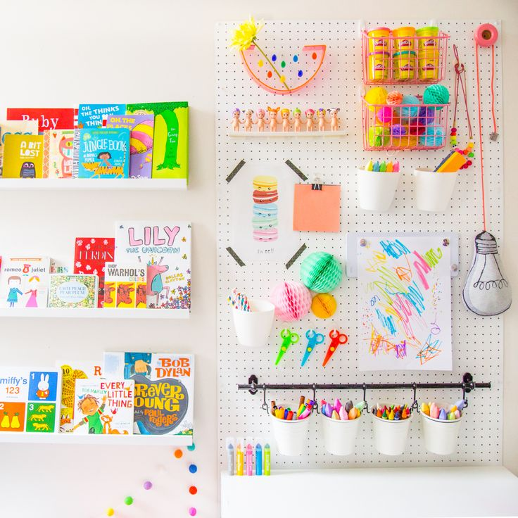 Bright and fun kids room