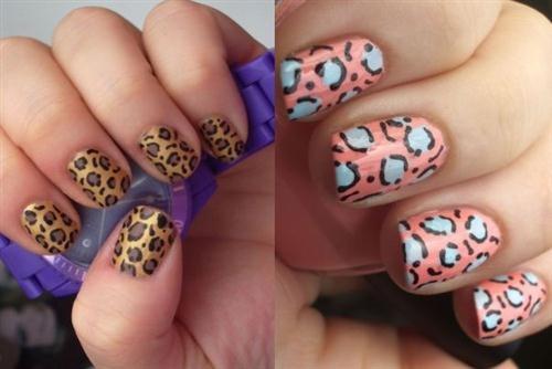 Leopard nail art..: Seasons Nails, Parties Seasons, Nails Art, Beautiful Nails, Nails Design, Art Trends, Leopards Nails, Up And Com Beautiful, Cheetahs Prints