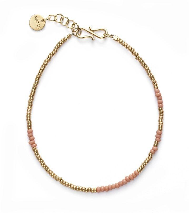 ANNI LU ASYM bracelet / rose
