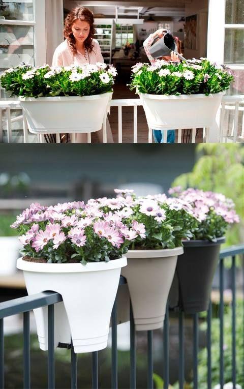 Dekoracja balkonu Elho