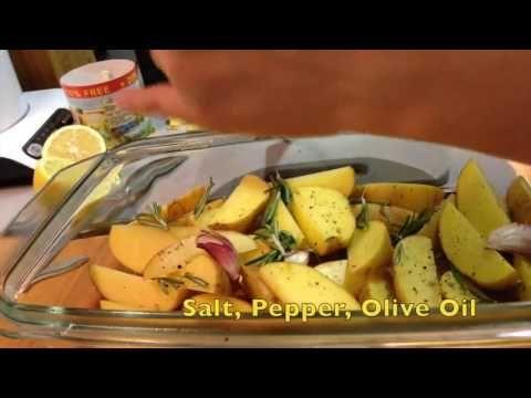 Запеченный Картофель с Розмарином в духовке / Baked Rosemary Potatoes (...
