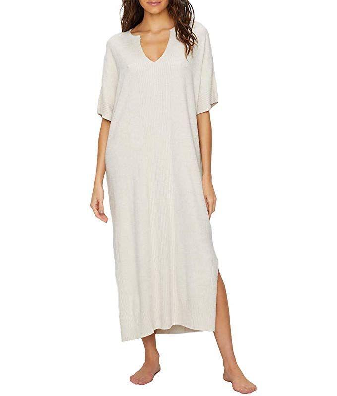 Oprah s Favorite Things Barefoot Dreams Women s CozyChic Ultra Lite Caftan e307564ce