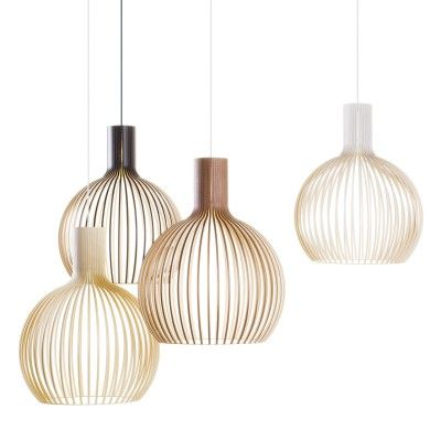 24 best lighting images on pinterest chandeliers for the home and octo 4240 pendant lamp by secto a finnish company specializing in wooden designer lamps aloadofball Image collections