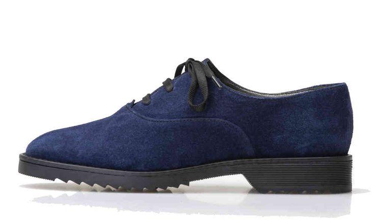 Palmroth oxford blue suede - Palmroth Shop