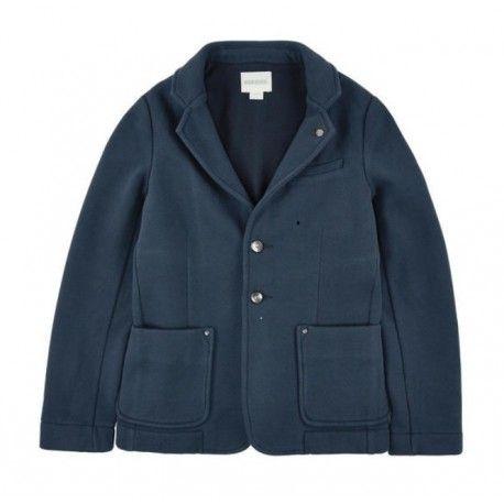 BLAZER DIESEL KID Blazer in felpa da bambino della Diesel in jersey di cotone di colore blu navy con abbottonatura centrale, colletto revers, due tasche frontali e taschino porta pochette. Blazer Diesel Kid ideale come completamento di un outfit casual, un capo che non deve mai mancare nel guardaroba di un bambino e o di un ragazzino. #diesel #dieselkid #giacca #giacche #jacket #blazer #felpa #sweatshirt #boy #kid #junior #child #children #abbigliamento #clothing #shoponline #ecommerce…