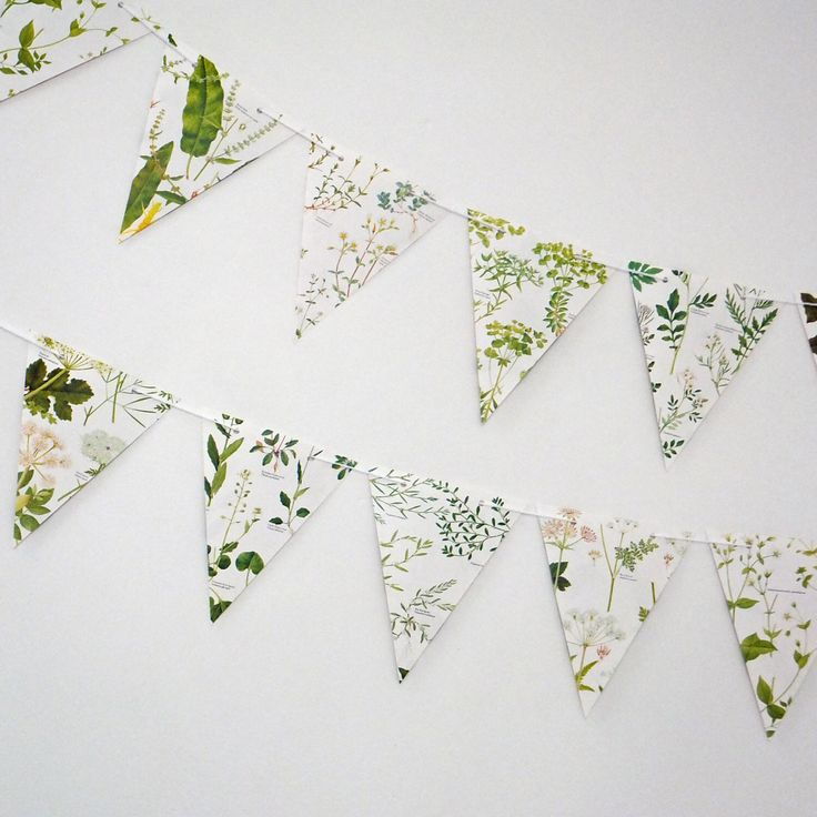 Wedding Garland,  Earth friendly banner, Wedding decor, Green Bunting, Natural Wedding, Garland, up-cycled paper bunting, pennants by PeonyandThistle on Etsy https://www.etsy.com/listing/222376241/wedding-garland-earth-friendly-banner