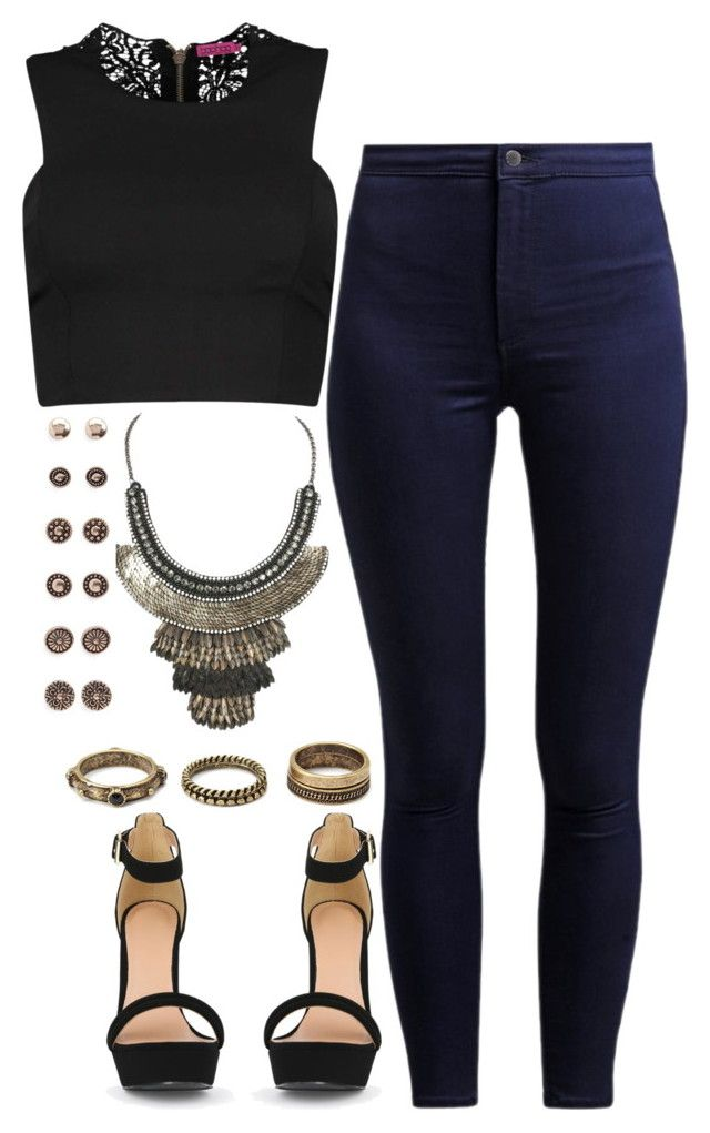 """""""Untitled #945"""" by adc421 ❤ liked on Polyvore featuring Forever 21, Boohoo and Deepa Gurnani"""