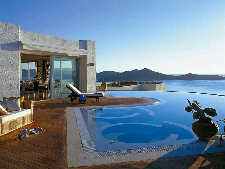 Elounda village, Crete!!