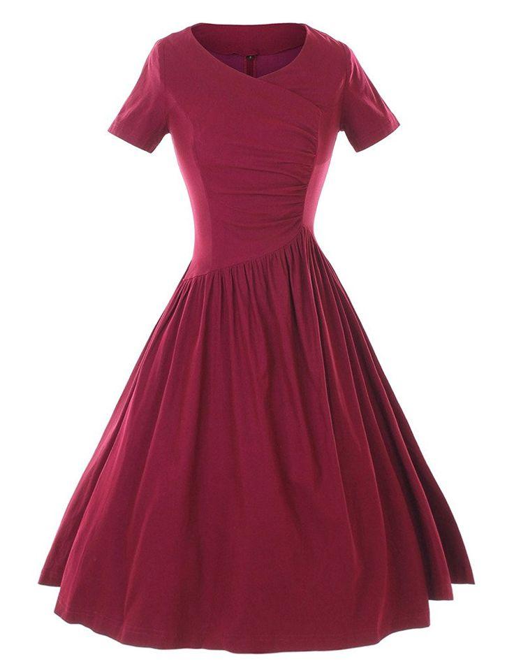Amazon.com: GownTown 1950's Rockabilly Stretchy Vintage Dresses: Clothing  https://www.amazon.com/gp/product/B01HW3LV64/ref=as_li_qf_sp_asin_il_tl?ie=UTF8&tag=rockaclothsto-20&camp=1789&creative=9325&linkCode=as2&creativeASIN=B01HW3LV64&linkId=fc581fa00f11bc4020e1fb6bc0478954
