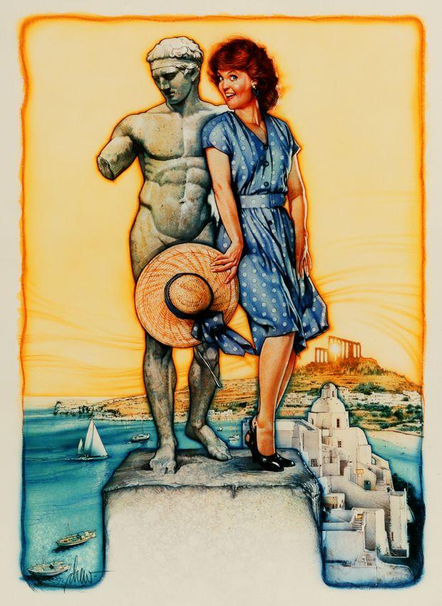 Shirley Valentine - Poster Art by Drew Struzan