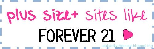 Plus Size Fashion Like Forever 21...so many great websites that have things made for women of all sizes! Pin now read later