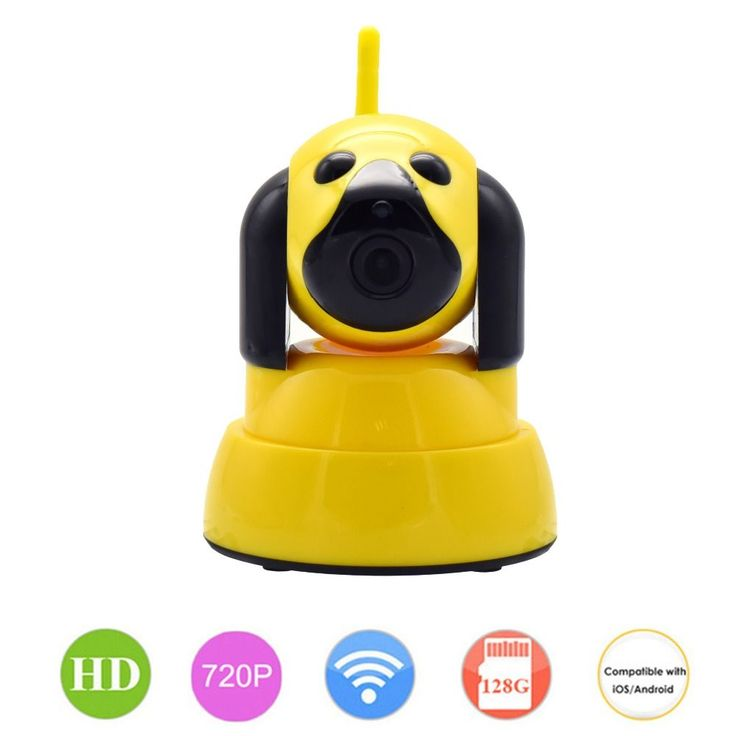 720P WIFI Baby Monitor Security IP Camera 1MP For Smart Home Dog Cam CCTV Mini Wi-Fi Video Camera Wireless Indoor Alarm PTZ P2P