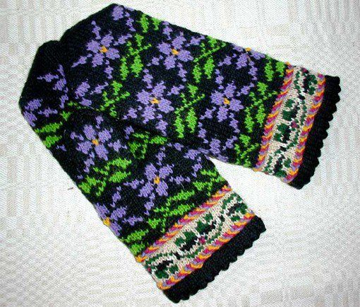 635 best Knitted socks and some mittens (but fair isle!) images on ...