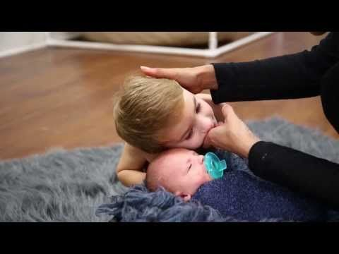▶ Ana Brandt Photographs 8 Day newborn baby Landon - YouTube