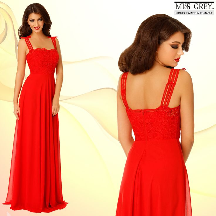 A statement dress made from fine veil in the most passionate color of them all, the Irene red dress will make you feel like a goddess.