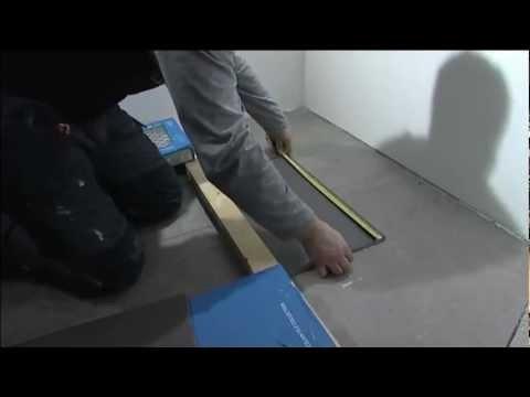 Näin käy lattian laatoitus kuivaan tilaan