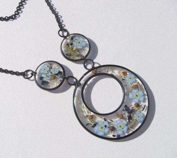 Epoxy jewelry