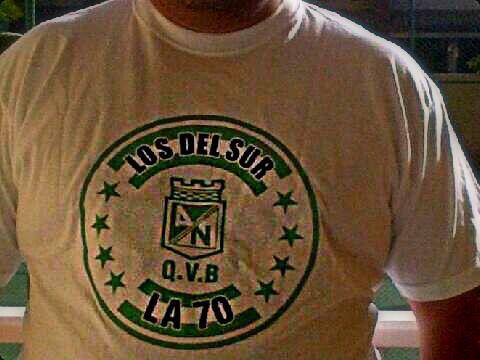"""""""Todas las canchas donde te segui"""" #AtleticoNacional #Nacional #Brasil #Verde #LosDelSur #QuieroVerteBailar ... La calle de los titulos !!!!"""