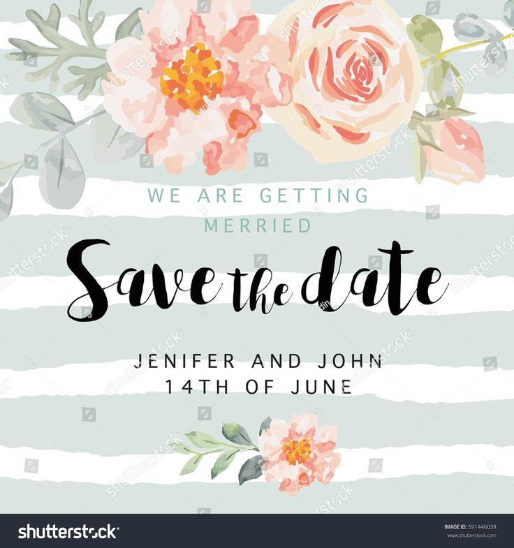Best 25+ Wedding invitation card template ideas on Pinterest DIY - christmas card templates word
