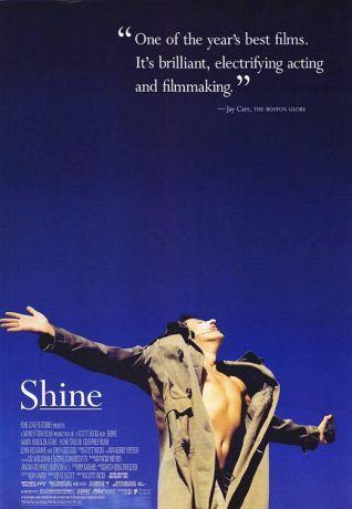 Shine - 1996 Yönetmen: Scott Hicks Yazar: Jan Sardi (screenplay), Scott Hicks (story) Oyuncular: Geoffrey Rush (David Helfgott), Armin Mueller-Stahl (Peter), Noah Taylor (David Helfgott-Genç)
