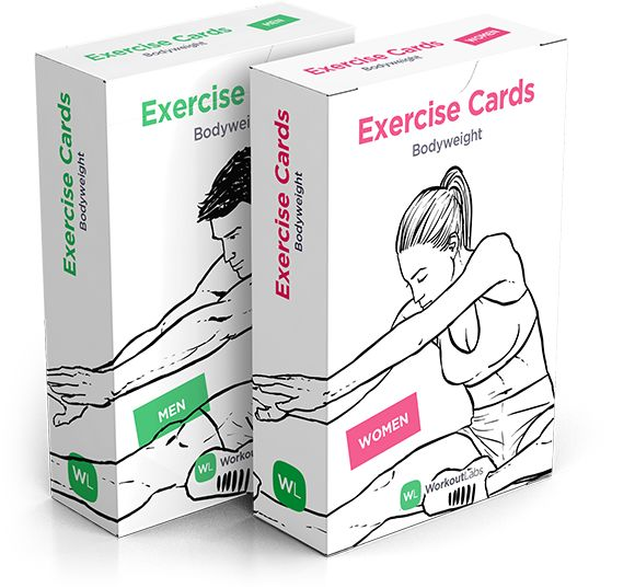 Exercise Cards by WorkoutLabs | http://snip.ly/9gUk