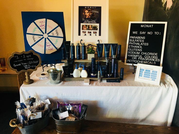 Monat vendor booth Longoria.mymonat.com | Monat in 2019 ...