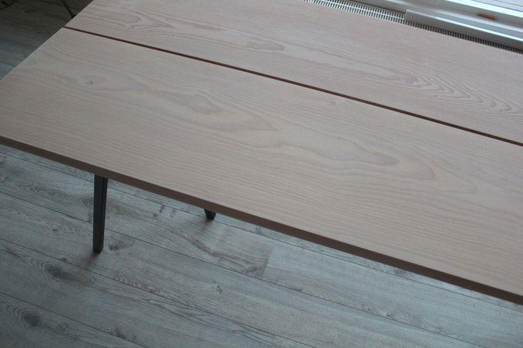 God onsdag dere! Nok en dag skinner den deilige solen her i Oslo, så deilig♥ Vi er i full gang med DIY prosjektet vårt : Nemlig spisebordet. Mange som lurer på hvor bordet er fra, og derfor skriver jeg det bare her istedet for i kommentarfeltet. Bordplatene er bestilt fra Dinesen, de selger normalt tregulv …
