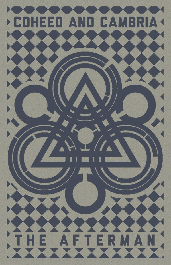 Coheed and Cambria: The Afterman Poster by Jacob Tender, via Behance