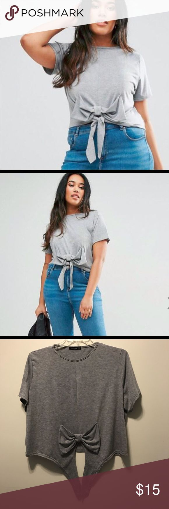 ASOS bow crop top ASOS bow crop top ASOS Curve Tops