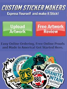 Special Offer from Custom Sticker Makers: Get 15% Off your entire order