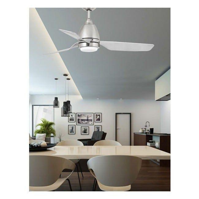 Fan With Led Light Fogo 12w Faro Barcelona Ceiling Fan In Kitchen Kitchen Ceiling Ceiling Fan