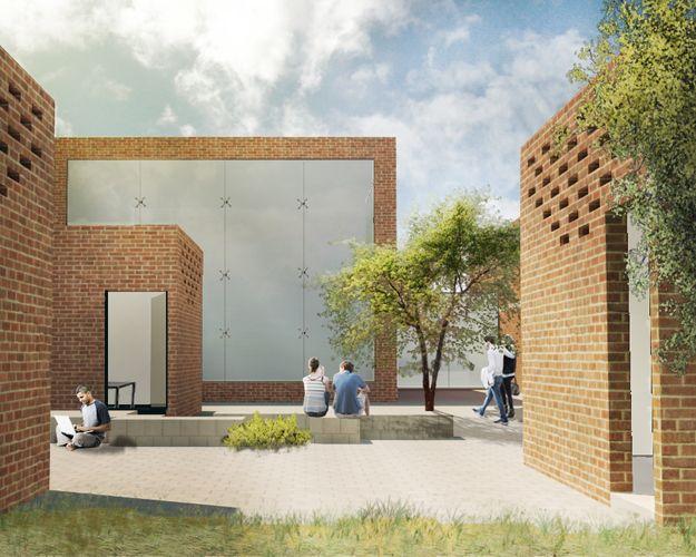 Escuela de Artes y Oficios - Zinacantepec, México. Marcela Olmos Perez